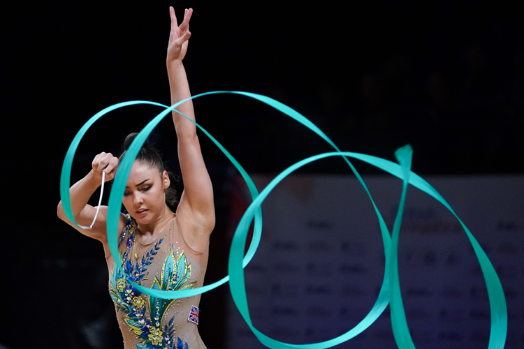 Rhythmic gymnasts head to Lilleshall for latest training camp