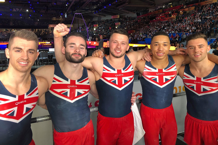 Men's team impress to place 5th in world final