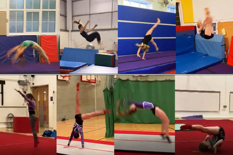 Gymnastics club receives over 500 entries to virtual competition