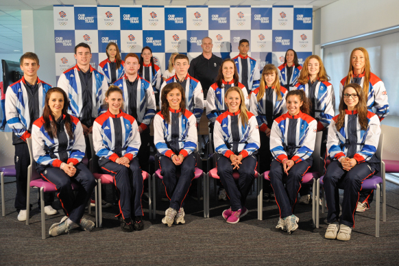 GB Gymnastic Team 368