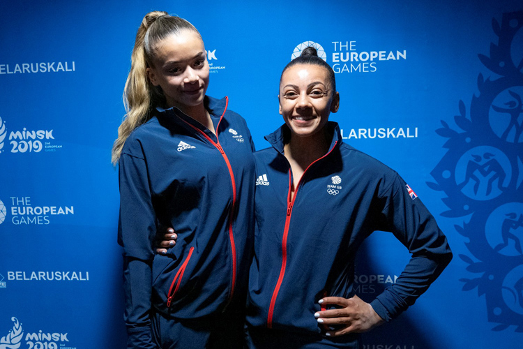 Successful qualification for artistic gymnasts at European Games