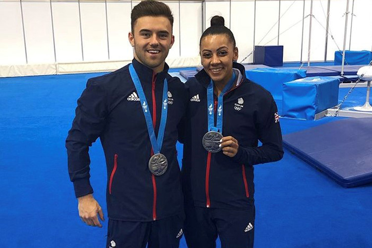 Silver success for Team GB gymnasts at European Games