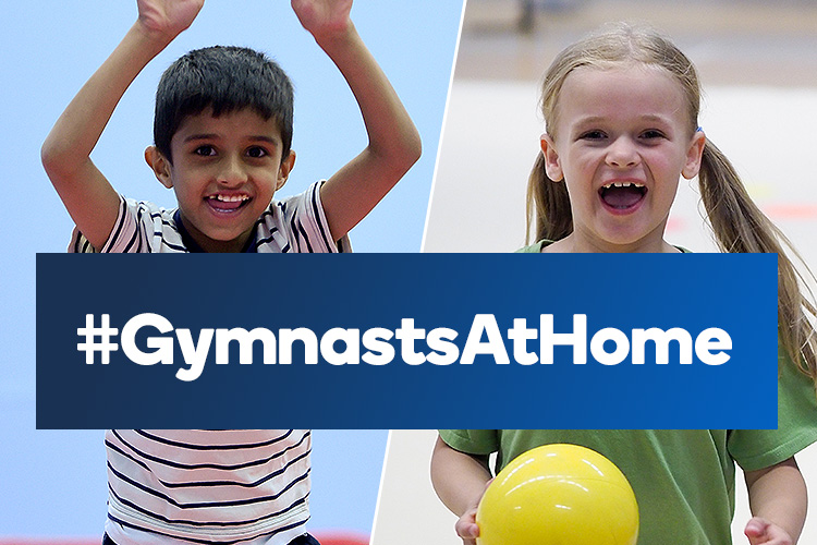 Gymnasts at home web