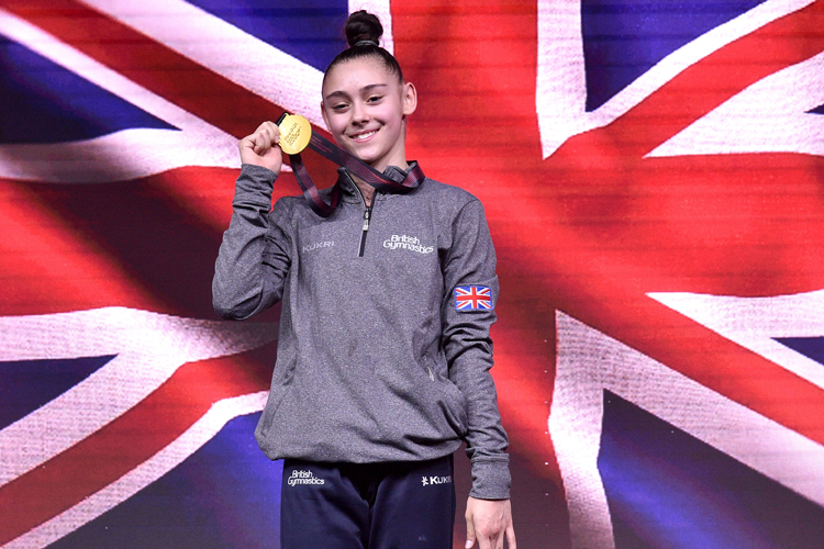 Gold for Gadirova at European Gymnastics Championships