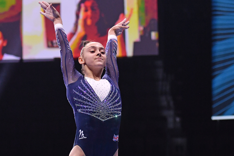 Three medals for British gymnasts on amazing day of finals at European Championships