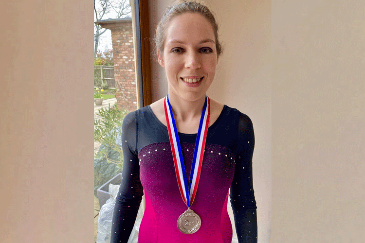 The Adult Gymnast Blog: Preparing for training and a medal!