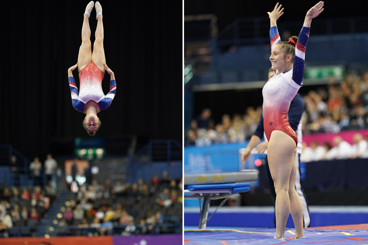 Kirsty on her Way to take on the world - British Gymnastics