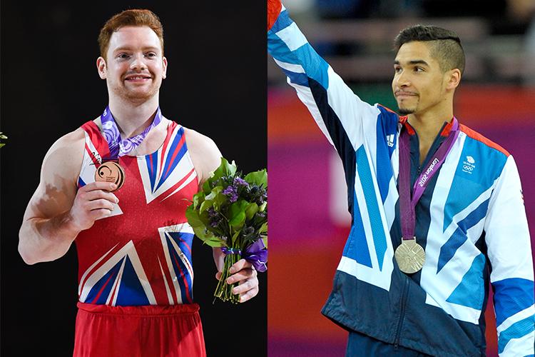 Louis Smith MBE and Dan Purvis inducted in to British Gymnastics Hall of Fame