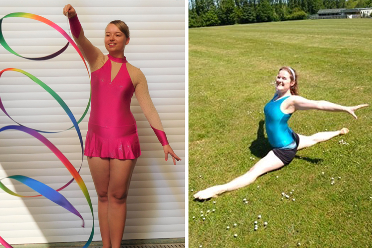 The Adult Gymnast Blog: Learning about Rhythmic Gymnastics with Jo and Lucy