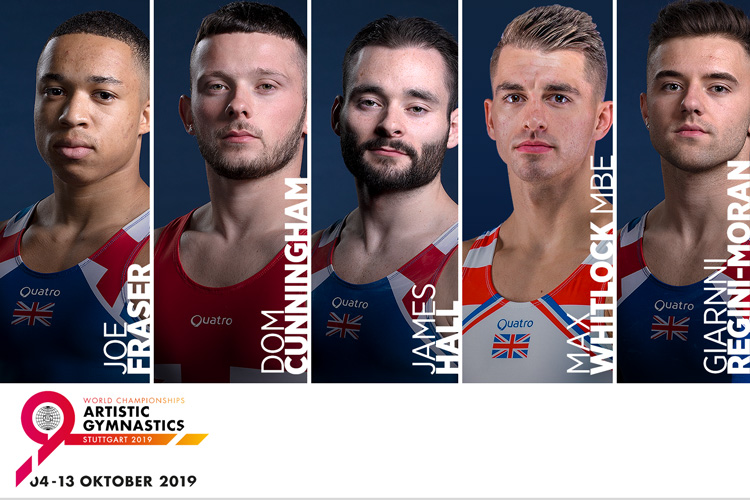 British men's team announced for 2019 Artistic World Championships