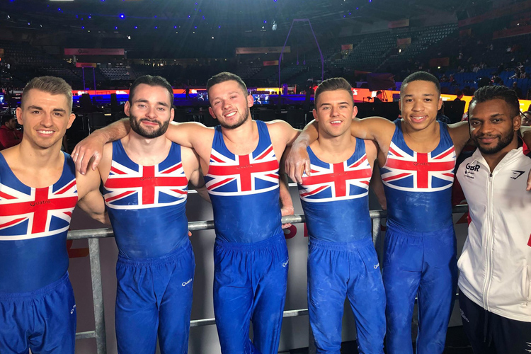 World finals and Olympic place guaranteed by British men's team