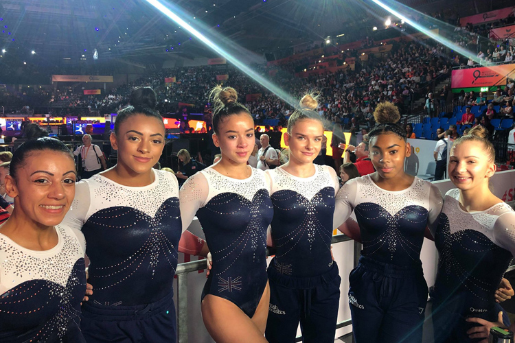British women's team 6th in world final