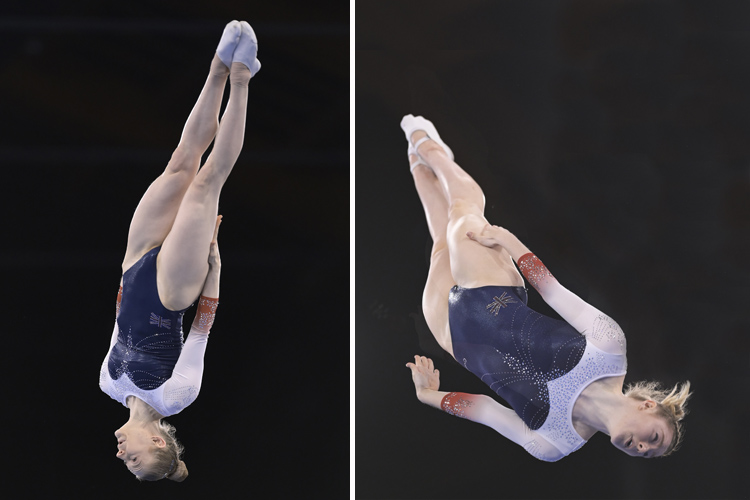 Trampoline gymnasts continue Olympic qualification