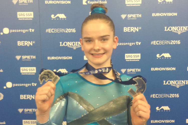 Double European silver for Alice Kinsella