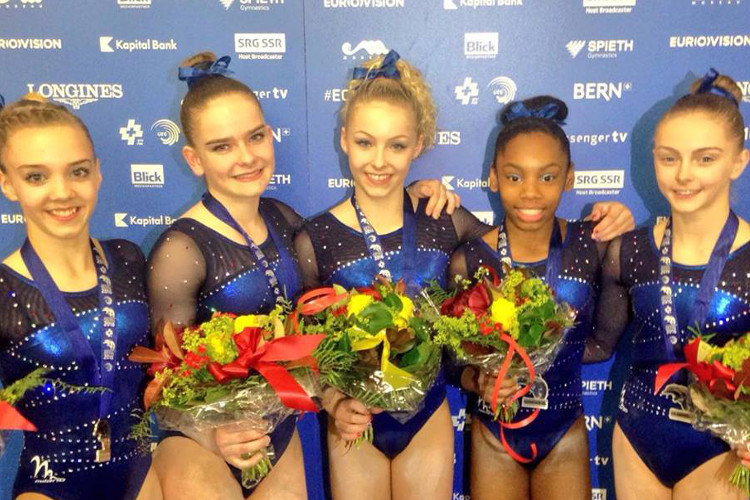 Superb European silver for GB junior girls