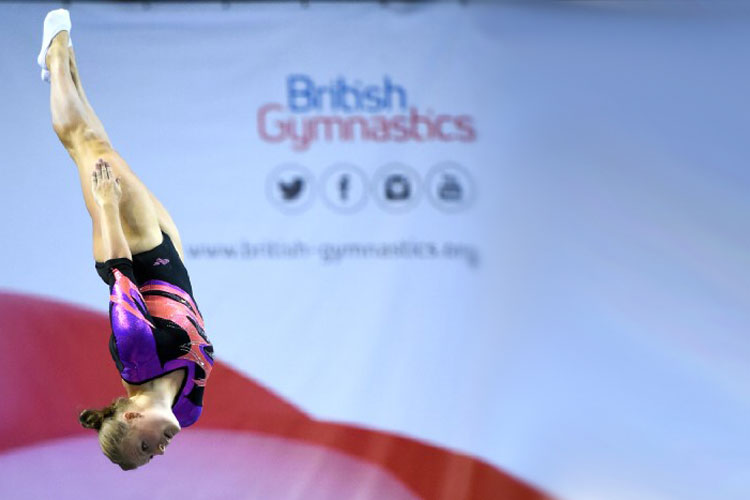 Qualifications complete on day one of the 2017 Trampoline, Tumbling & DMT British