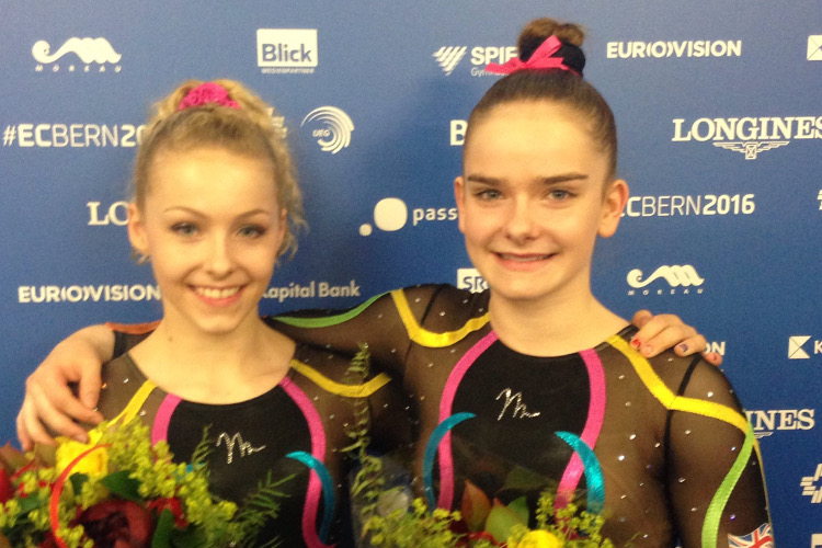 Maisie Methuen 4th and Alice Kinsella 5th in European final
