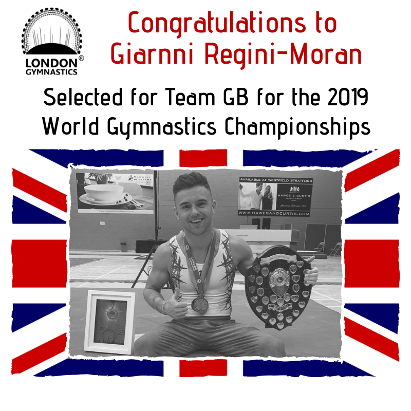 Giarnni selected for 2019 World Championships Team