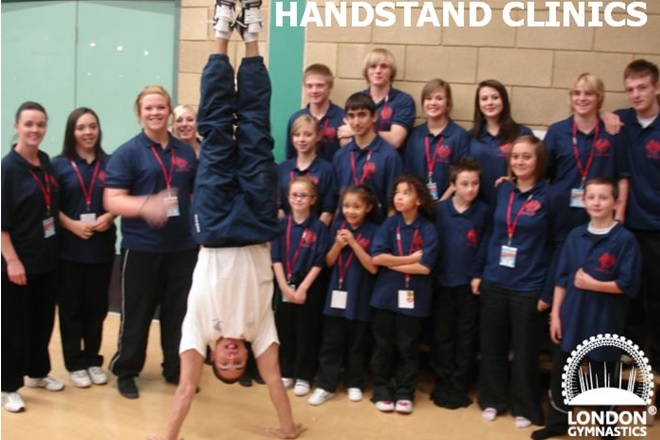 Simon Moore Handstand Clinic