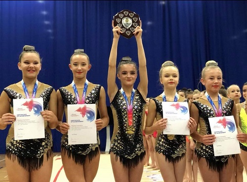More Individual and Group success for the Region's rhythmic gymnasts