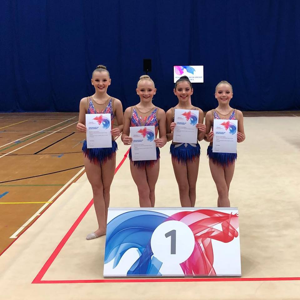 Success for rhythmic clubs in Group Leagues