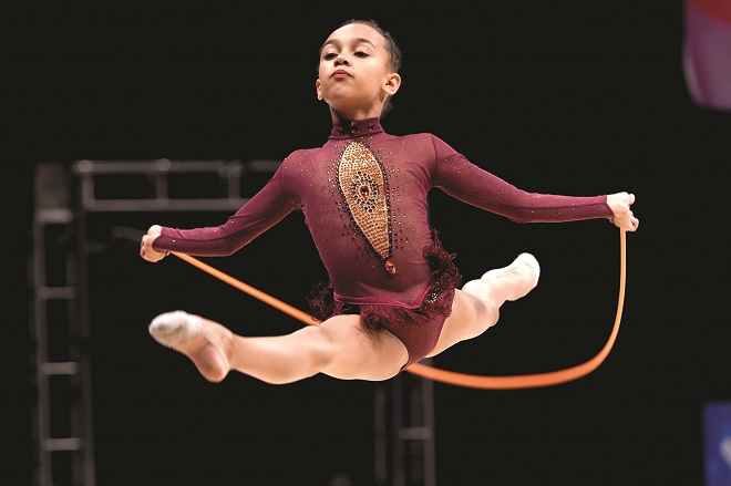 Gymnasts from the City of Birmingham win five medals