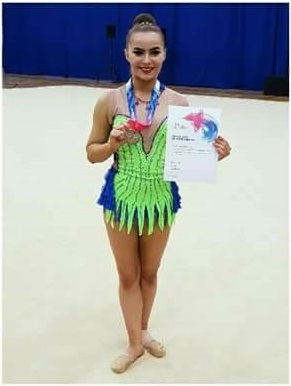 More success for our rhythmic gymnasts at NDP Finals and Group League Round 1