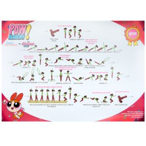 POW Wall Chart Packs of 8
