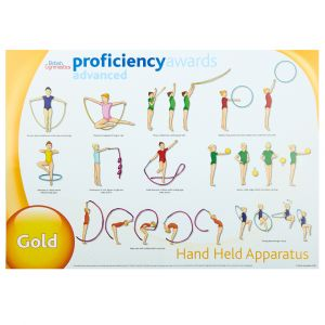 Advanced Proficiency Wall Charts -  Set of 3 Hand Held