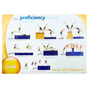 Advanced Proficiency Wall Charts -  Set of 3 Vault & Rebound