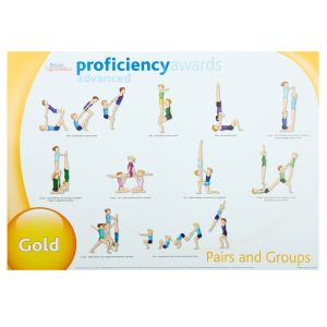 Advanced Proficiency Wall Charts -  Set of 3 Pairs & Groups