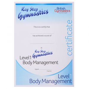 Key Steps Certificate - Body Management