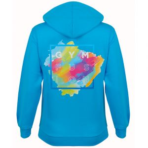 Blue Gymfusion Full Colour Hoodie