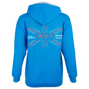 Fly The Flag Hoodie (Sapphire Blue)