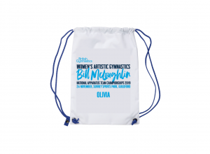 2019 BILL MCLOUGHLIN Personalised Drawstring Bag