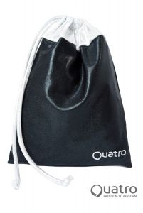 Quatro Black and silver handguard bag