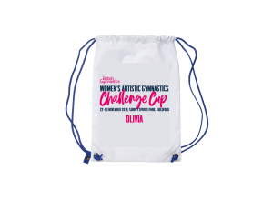 2019 CHALLENGE CUP Personalised Drawstring Bag