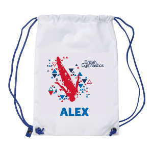 Personalised Drawstring Bag - Fly