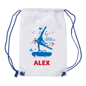 Personalised Drawstring Bag - Pommel