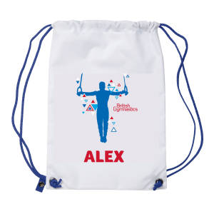 Personalised Drawstring Bag - Rings
