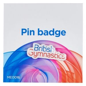 British Gymnastics Pin Badge