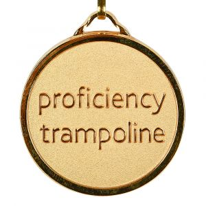 Trampoline Proficiency Medal