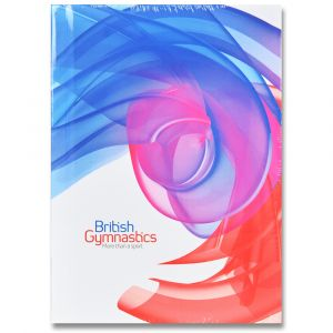 British Gymnastics A6 Notebook