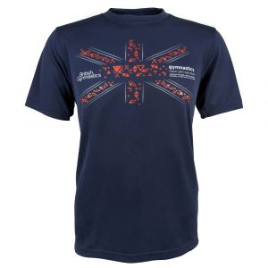 Fly The Flag T Shirt (Navy)