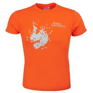 Tuck T Shirt (Orange Crush)