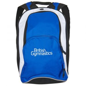 British Gymnastics Backpack - Royal Blue