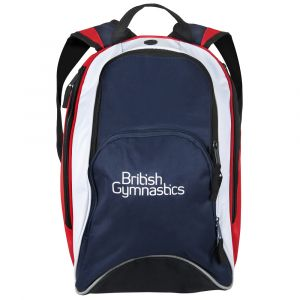 British Gymnastics  Backpack - Red, White & Blue