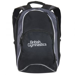 British Gymnastics Backpack - Black & Grey