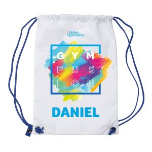 GymFusion Personalised Drawstring Bag