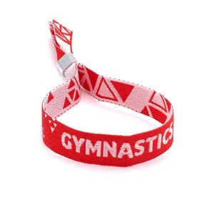 British Gymnastics Official Wristband - Red